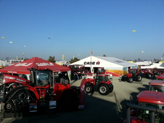 The Case IH lot at World Ag Expo will feature a wide variety of new products. You can see some of them in action at the new World Ag Expo Arena show.